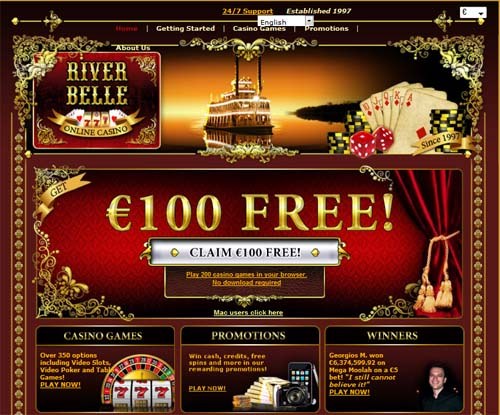 video slots online casino river queen