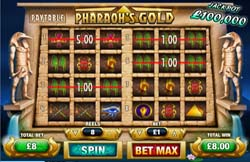 Pharaoh's Gold Online Slots Game Review