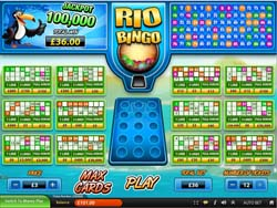 """Rio Bingo"" New Online Game at Scratchgames.com"