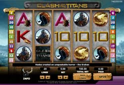 New Online Slots Game Clash of The Titans at 888Games.com