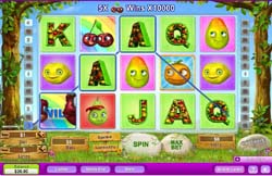 New Online Slots Game Fruity Friends at 888Play
