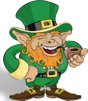 Luck Of The Irish Scratch Card