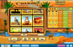 "Classic Slots Game ""Oasis Dreams"" Reviewed At 888Play.com"