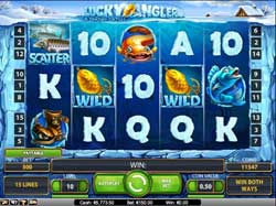 Netent Pokies – Lucky Angler: A Snowy Catch Review