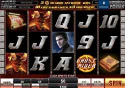 Playtech Amaze With The New Marvel Comics Ghost Rider Slot