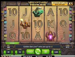 Online Pokies From Netent – Egyptian Heroes Video Slot