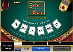 Flip Card Instant Win From Microgaming