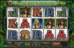 Girls with Guns-Jungle Heat   Microgaming 2013 Slots