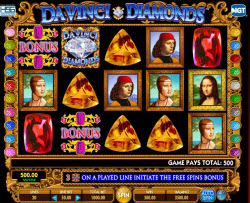 Da Vinci Diamonds Slots Famous For Winning Tumbling Reels