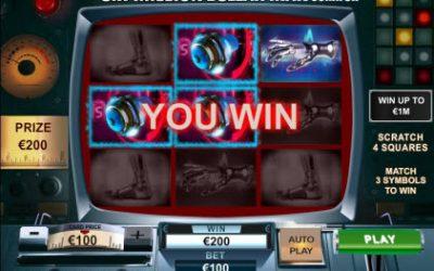 Six Million Dollar Man Online Scratch Card