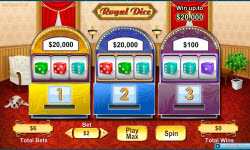 Royal Dice Fruit Machine From Neogames