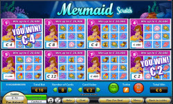 New Mermaid Scratch Ticket With £7 Free