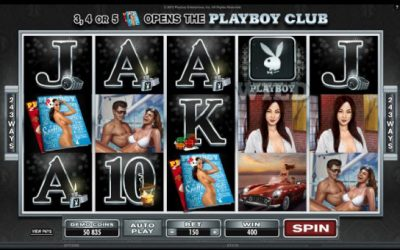 Get An Eyeful With The New Playboy Slots Game
