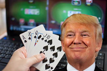 Trump eyes new-jersey online gaming