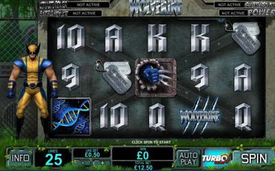 New Wolverine Pokies Game From Playtech