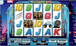 Wolverine Superhero Slot From Neogames
