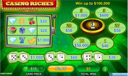 Casino Riches Online Scratchcard From Neogames