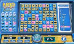 Instant Win Pokies Game Keno Deluxe
