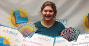 California Girl Wins Scratchcard Lottery Jackpot Twice in A Week