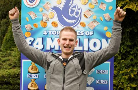 Latest Scratchcard Jackpot won by young Welshman