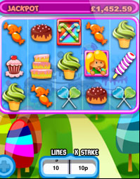 Sweet Treats Mobile Slots Game