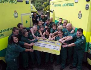 Syndicate of Emergency Workers Win Euromillions Olympic Raffle