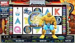 888Play Releases New Fantastic Four Online Slots Game