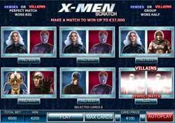 William Hill Presents The X-MEN Online Scratch Card Game