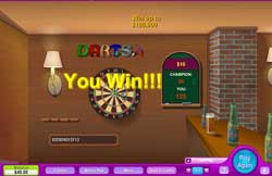 Pop In To The Darts Pub For An Instant Win Cash Game