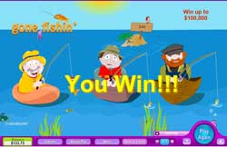 """""""Gone Fishin"""" Online Scratch Card Game at 888Play.com"""