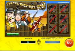 How the West Was Won – Online Scratch Card From 888Games