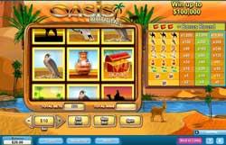 "Classic Slots Game ""Oasis Dreams"" Reviewed At 888Play.com"