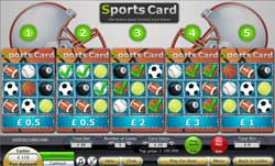 Sports Card Online Scratchies Game From ScratchMania