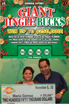 Christmas Comes Early For Lottery Scratch Card Winner