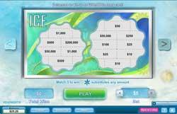 Break The Ice In A New Scratch Ticket Game