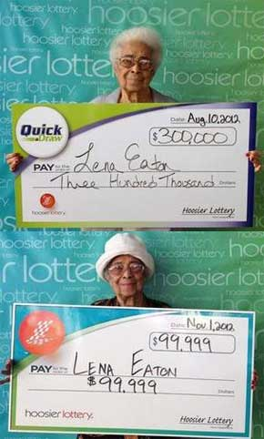 91 Year Old Woman Wins Lottery Twice In 3 Months