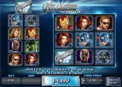 Marvel Comic Legends Live On In The New Avengers Scratchcard