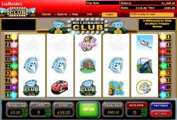 Millionaires Club Boasts Ultimate Slots Progressive Jackpot