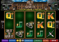 """In It To Win It"" Pokies Game Online"
