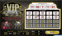 VIP Black New Scratchie With A £300,000 Jackpot