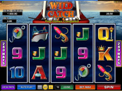 Microgaming Slots August 2013 – Wild Catch