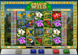 Playtech Launch The Amazon Wild Slots Game -100 Paylines